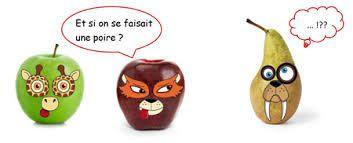 Des pommes, des poires... mais pas de scoubidou !!