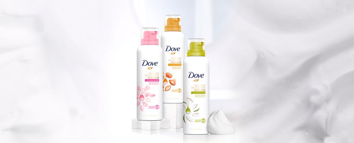test douche Surgras Dove