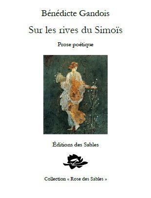 """Parution de mon recueil """"Sur les rives du Simoïs"""""""