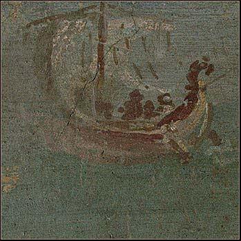 Thèse abandonne Ariane, fresque de Pompéi, maison des Vettii