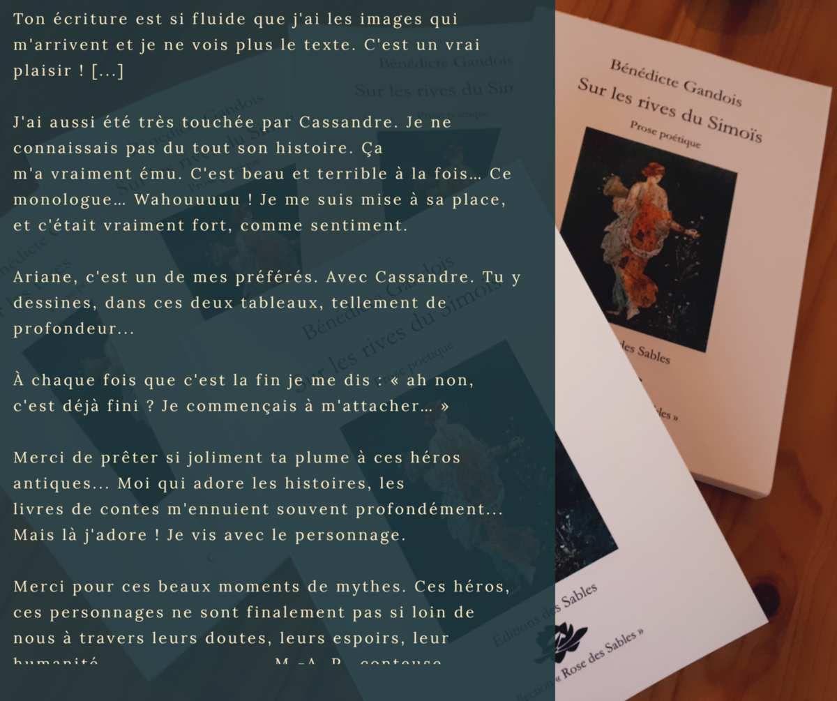 """""""Sur les Rives du Simoïs""""... Vu par ses lecteurs"""
