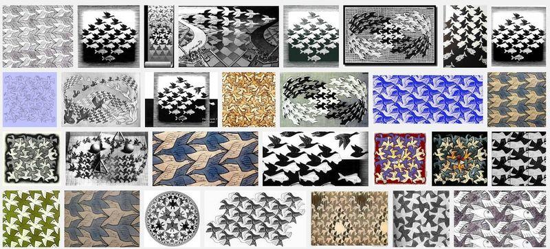 Escher 2.o quelq remasterisations modernes