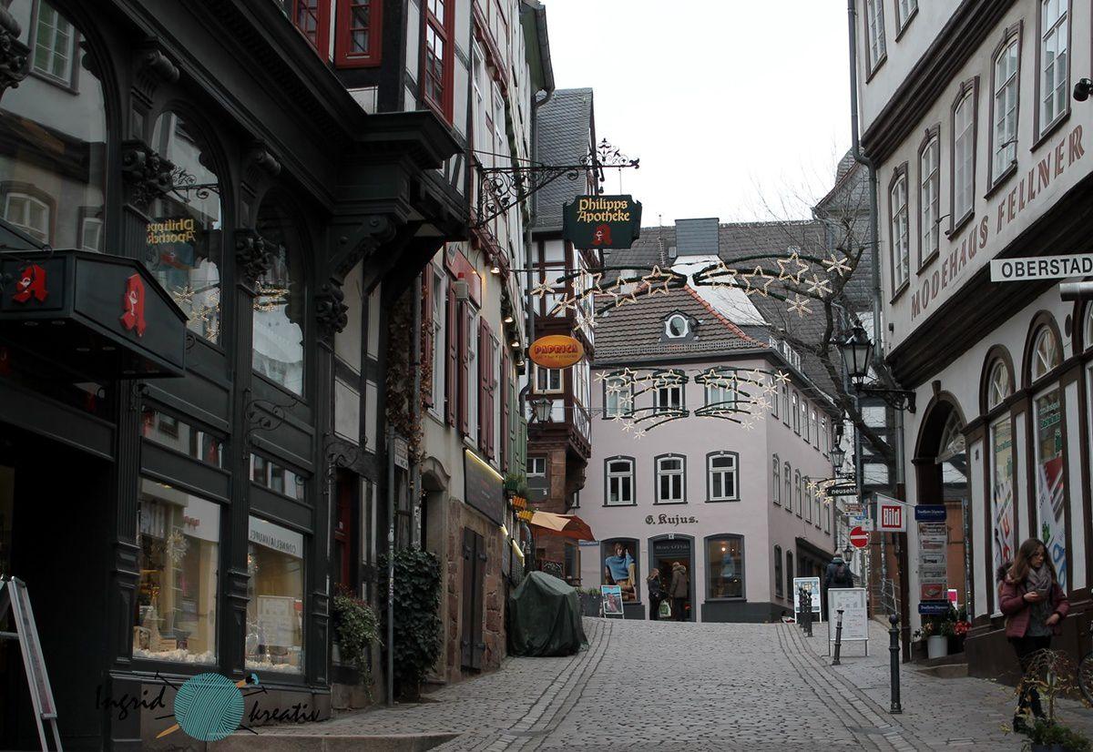 Marburg Oberstadt Altstadt Fachwerkhäuser