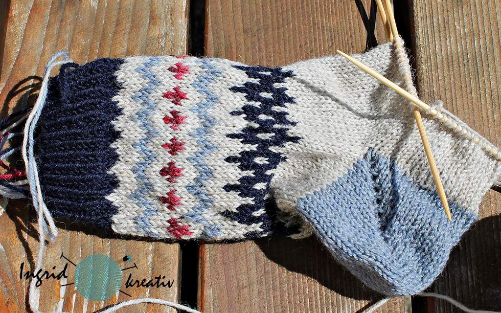 Socken Restesocken soxxbook No 15 stine und stich