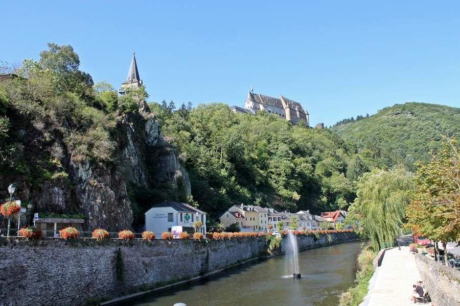 Vianden Luxemburg Our Burg