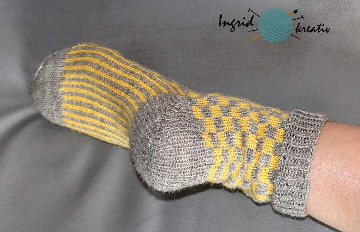 Statement Socken mit Farben zum Erfolg