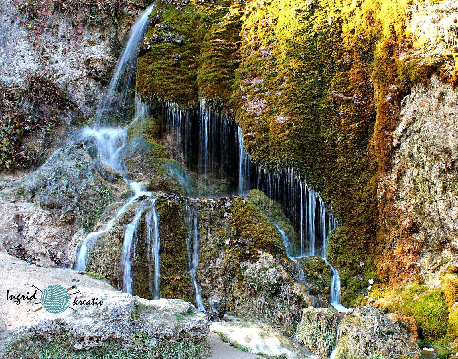 dreimühlen wasserfall nohn vulkaneifel kalksinterterrassen