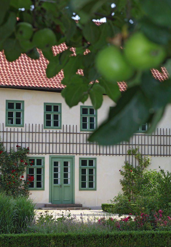 Der Garten des Herrenhauses. Foto: LWL