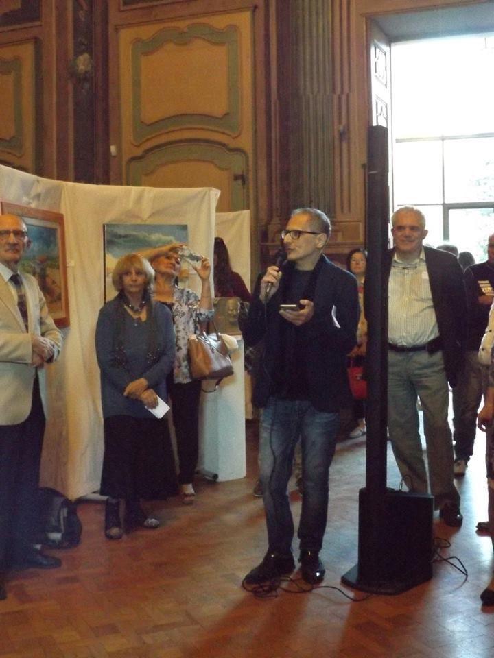 Inauguration de l'exposition en hommage à Lawrence Ferlinghetti