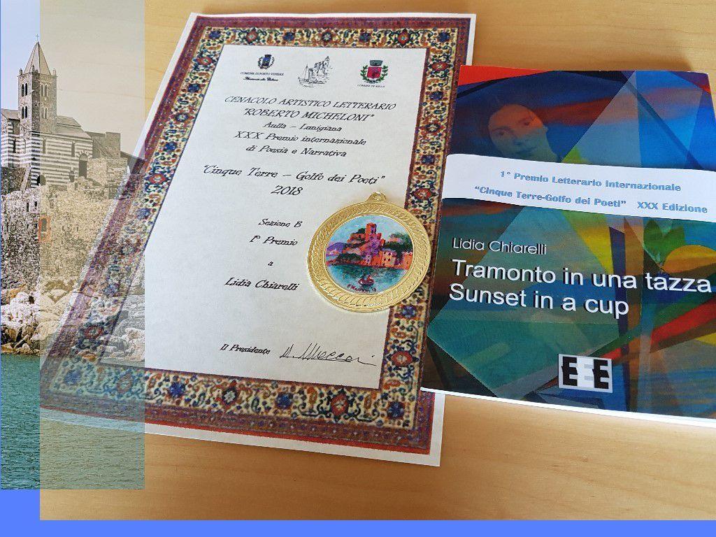 """""""TRAMONTO IN UNA TAZZA"""": 1er Prix CINQUE TERRE - GOLFO DEI POETI - XXXème édition, Portovenere"""