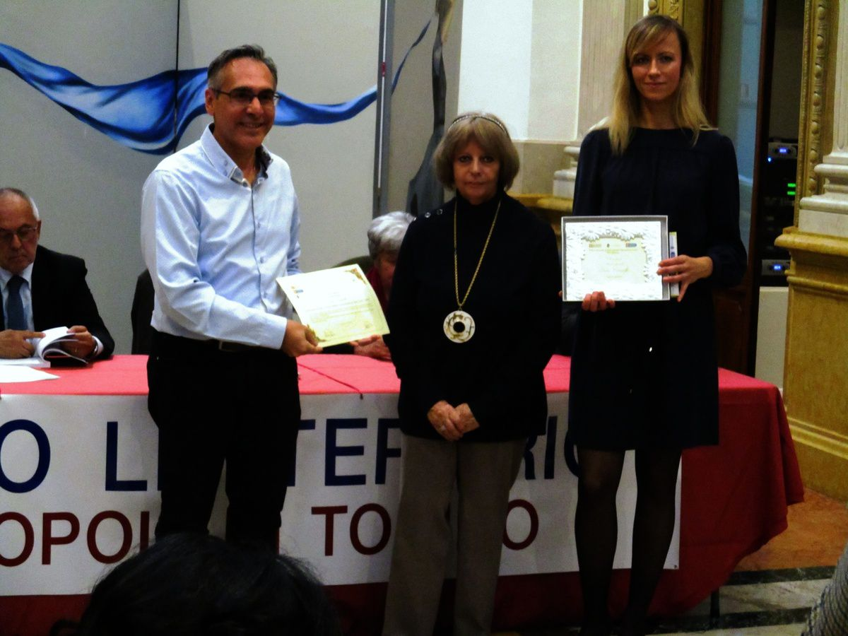 Prix pour Lidia Chiarelli à Turin _ Inclinazioni di luce, Cross-Cultural Communications, New York 2019