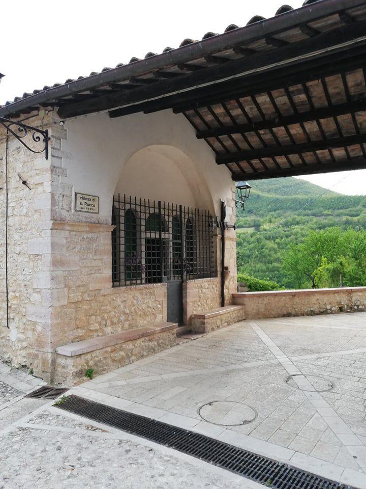 La chiesa di San Rocco a Vallo di Nera - Umbria