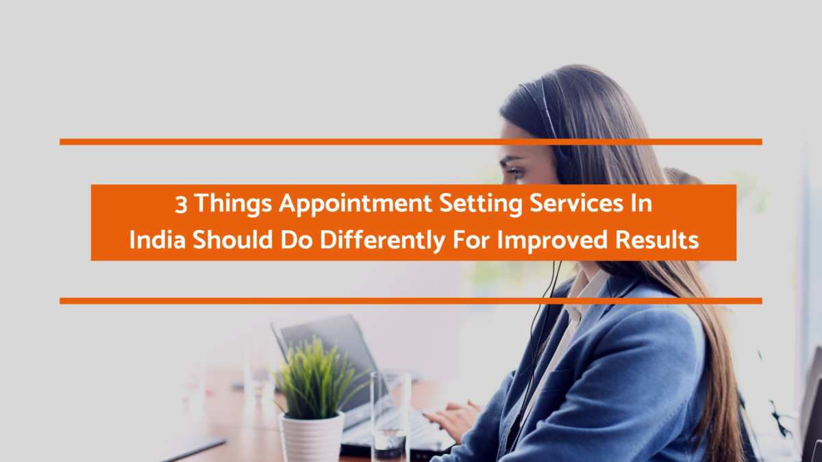Appointment Setting Services In India