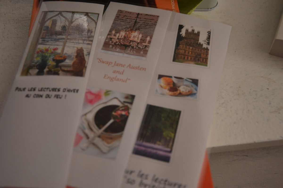 Swap Jane Austen : réception du colis de Northanger !