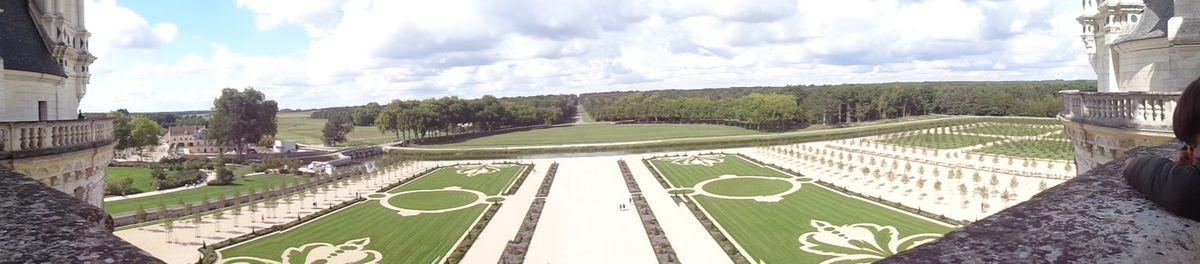 Visite d'une exposition au château de Chambord