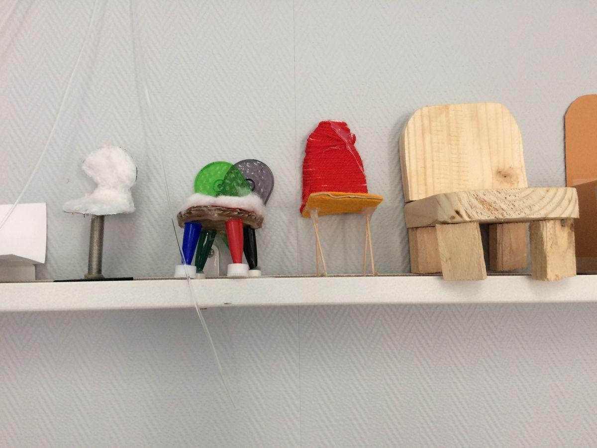 Les 6 èmes ont découvert le métier de designer. Une visite au musée de la Corbillière a suscité la curiosité de tous et ainsi donner une impulsion à la création d'une chaise, en classe.
