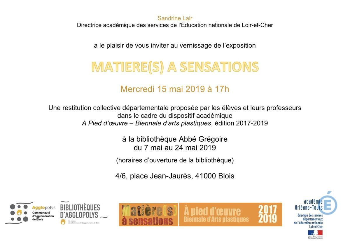 Exposition Biennale d'art à Blois
