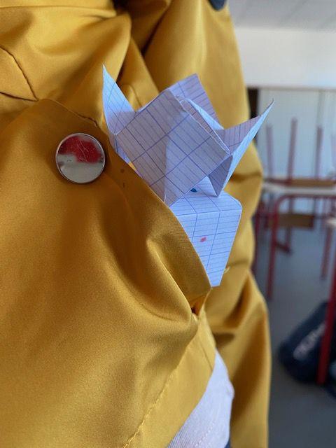 Une sculpture de poche!