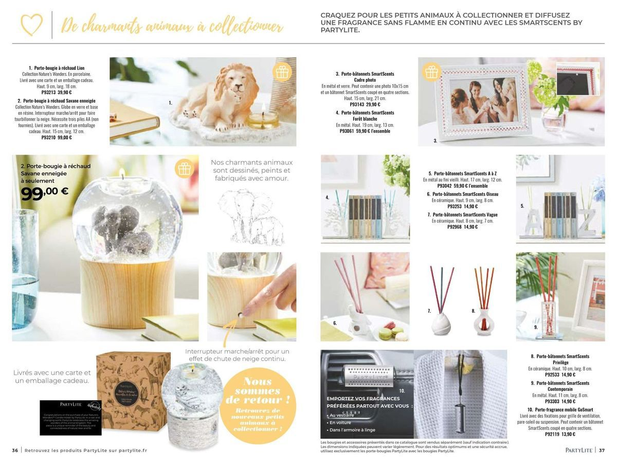 Catalogue été 2019 - vidéo et photos