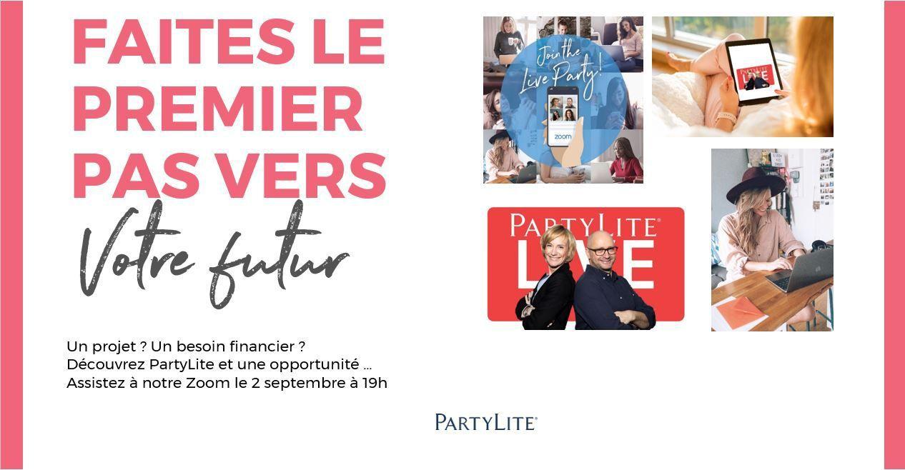 Opportunité JOB PartyLite - Rentrée 2020