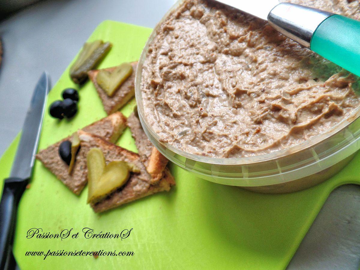 Recette - Cuisine - Tuto - Mousse de foie - Volaille - Apéritif - Entrée - Toast
