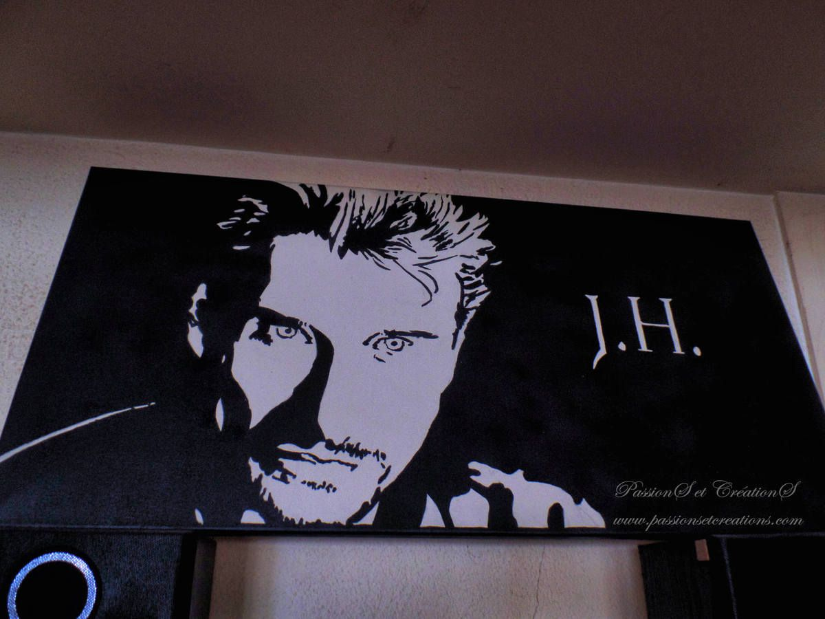 Photo - Johnny - Hallyday - Hommage - 7 - Décembre - 2017 - Calendrier - Avent