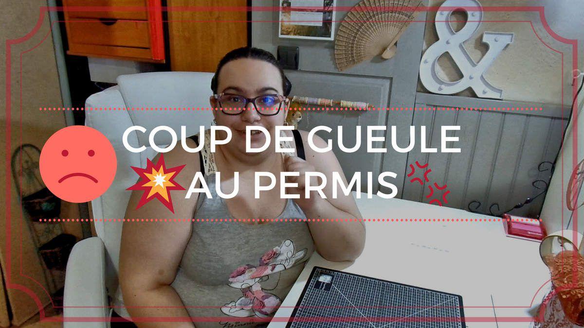 Coup de gueule - Permis - CER Contact - Colomiers - Enflures - Stress - Incompréhension