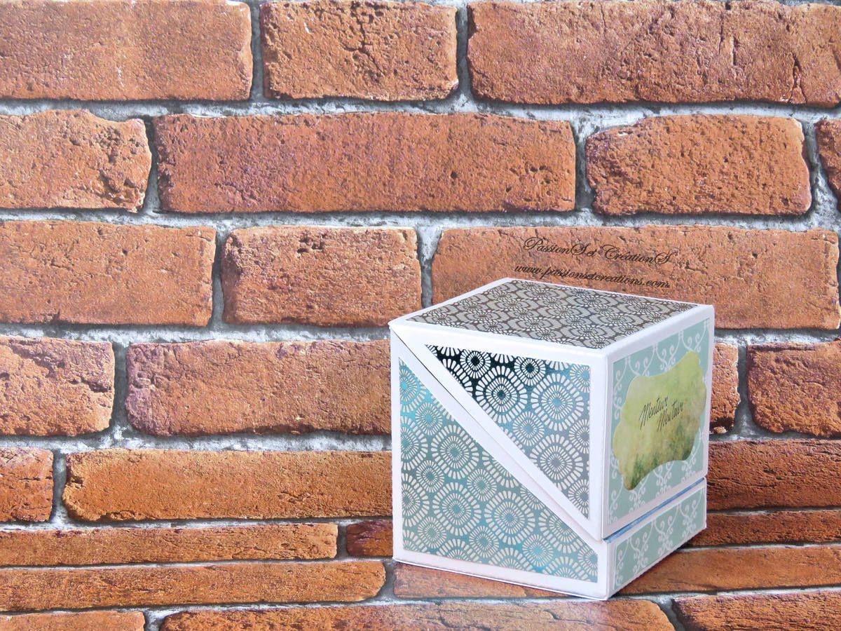 Boite - Jeu - Menteur Menteur - 2018 - Scan N Cut - CM600 - Cube - Ouverture - Insert