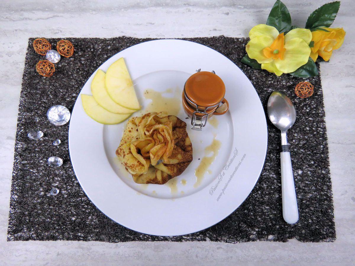 Recette - Cuisine - Chandeleur 2019 - Aumônières - Pomme - Caramel - Beurre Salé - Vanille - Crêpes - Sauce - Compotée