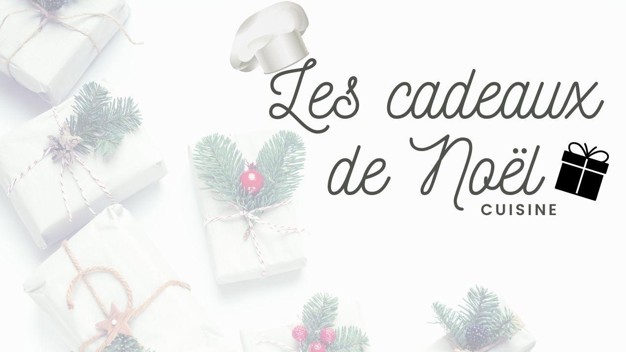 Cadeaux - Cuisine - Noël - 2019 - 2020 - Douilles - Kits - Amazon - Action - Gateaux - Décos - Couteaux