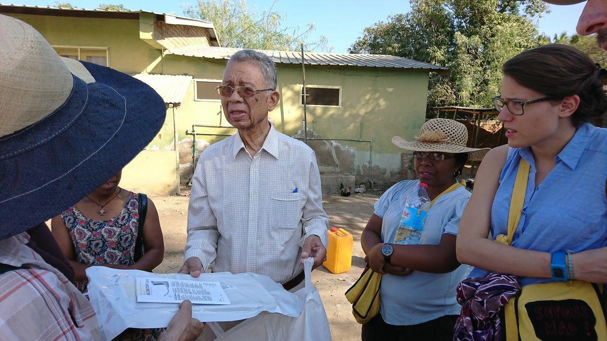 07 TULEAR - Visitations à la Clinique St Luc et chez les Salésiens de Don Bosco - 15 Juillet 2017