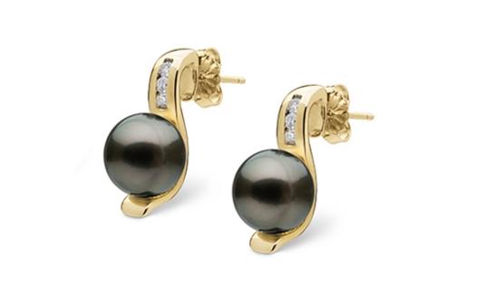 Boucles d'oreilles en perles de Tahiti
