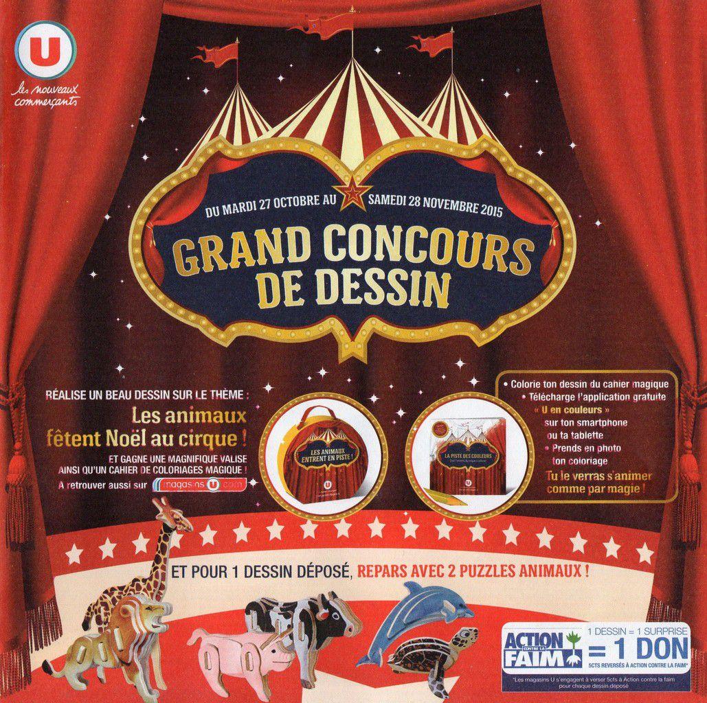 GRAND concours de dessin du magasin U