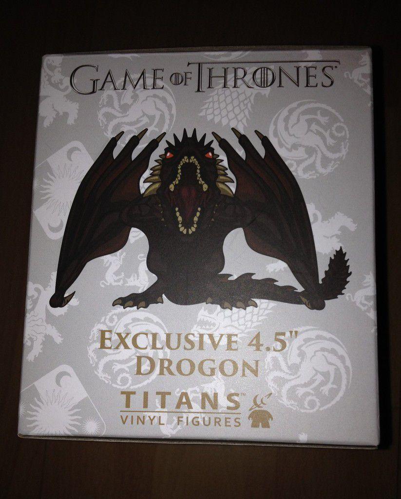 la  Figurine Titan officielle Drogon exclusive