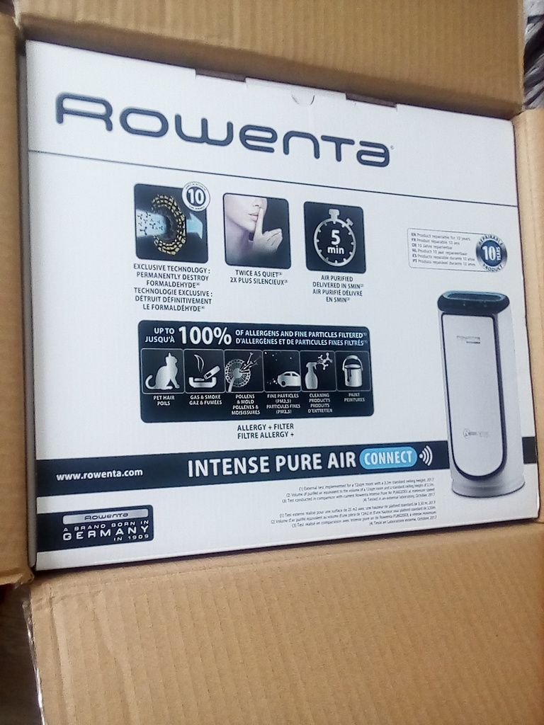 Rowenta Pure Aire Connect XL