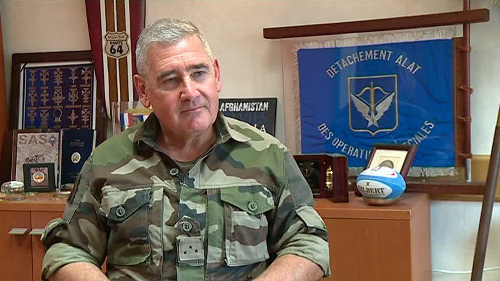Le général Patrick Bréthous (photo sud ouest)