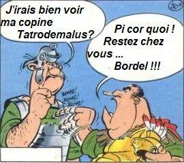 07/04/2020: Coronavirus... Pour continuer à rire( épisode 12)... Un mot d'ordre: Bordel !