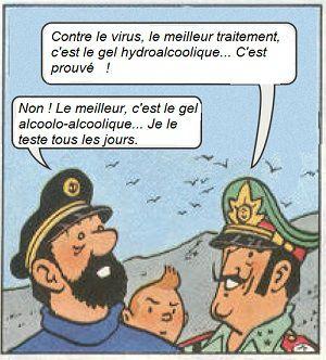 30/04/2020: BD contre virus... (2ème partie)   Hervé Poher