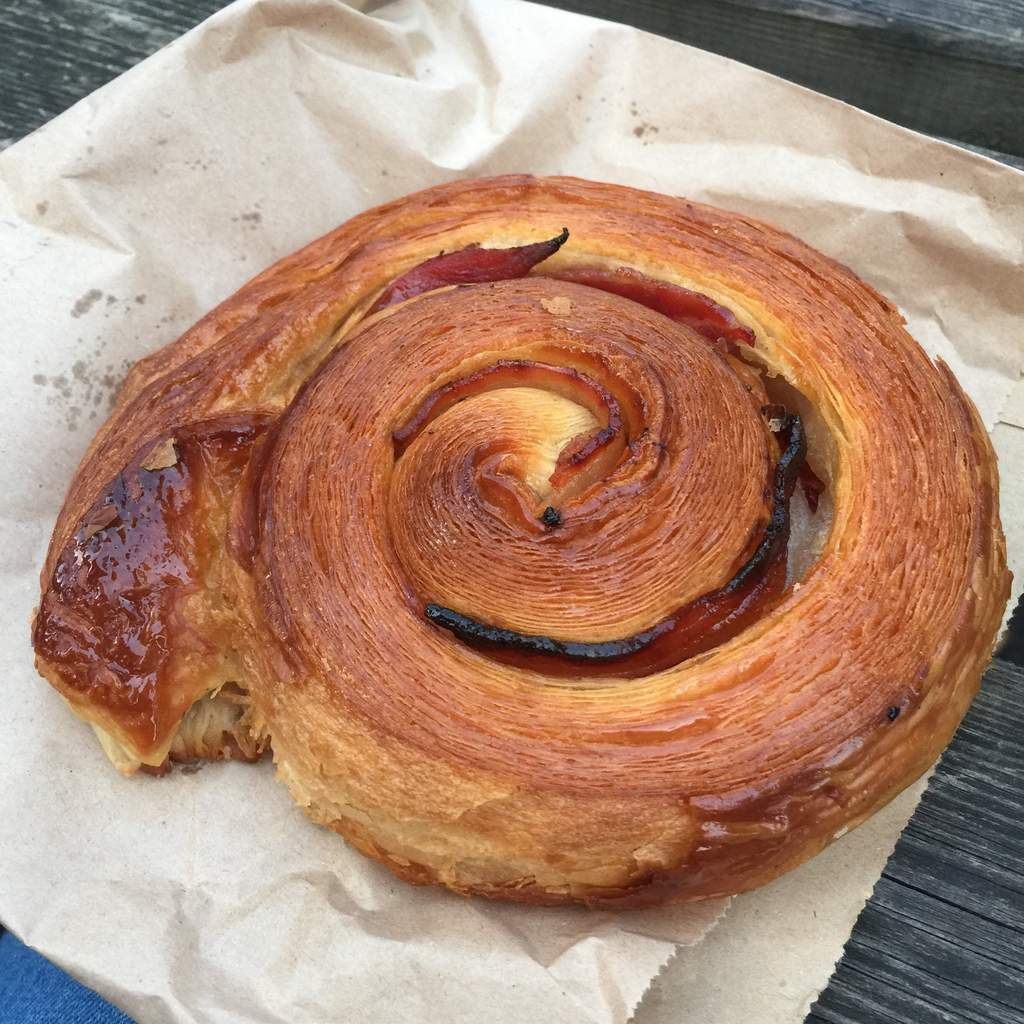 bacon and mapple croissant
