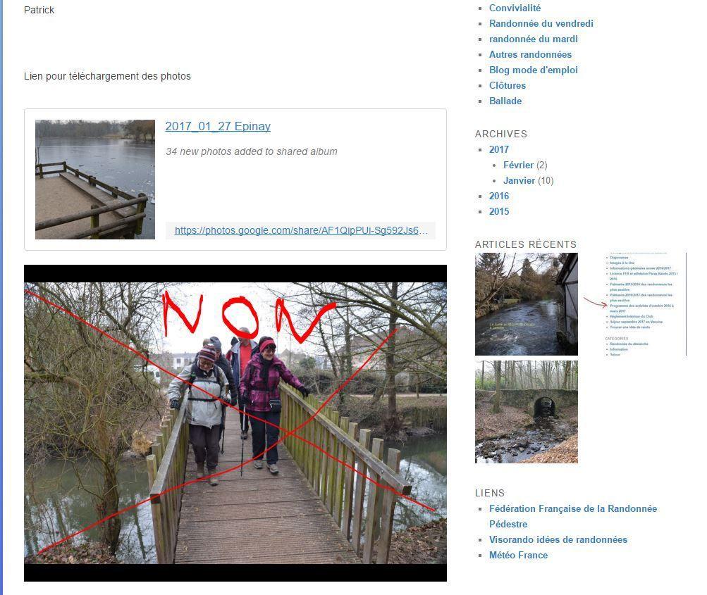 Art et manière de télécharger les photos du blog