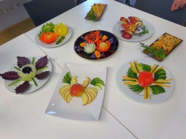 Dekoration mit Gemüse