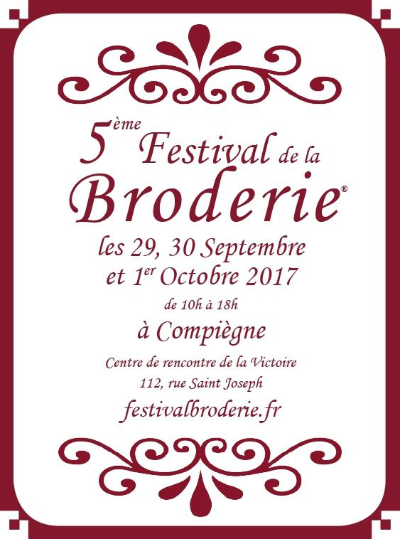 festival broderie compiegne