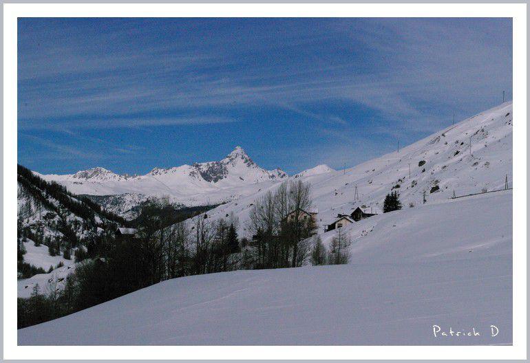 Nature, neige dans le plus haut village d'Europe :  Saint Véran (2040m) Queyras