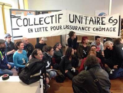 Mobilisation lyonnaise à l'initiative du collectif du Rhône pour sécuriser l'assurance chômage