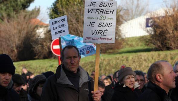 Manifestation du 24 janvier. Depuis le couperet et tombé, on licencie !