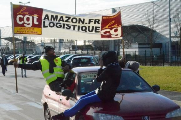 Mardi 26 mai, grève chez Amazon à Chalon comme partout ailleurs en France