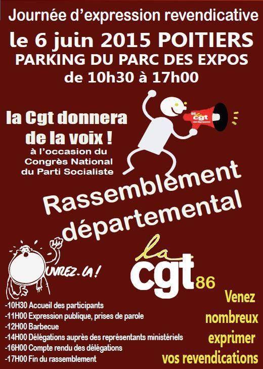 6 juin : grand rassemblement à Poitiers