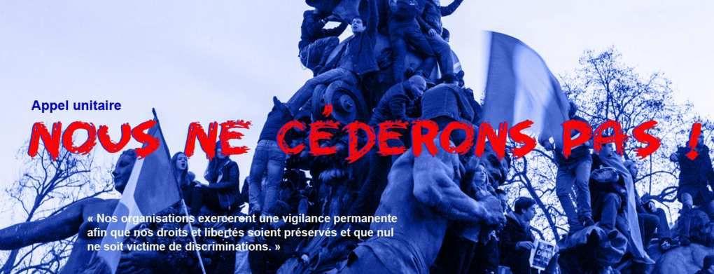 """Déchéance, pétition : """"Nous ne céderons pas"""""""