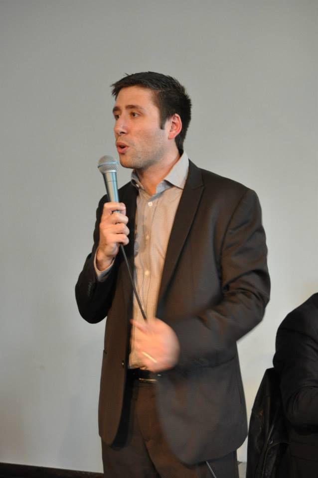 Igor Zamichiei, secrétaire de la fédération de Paris