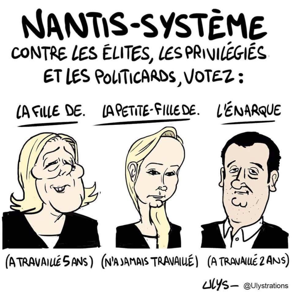 Le Front National ou l'imposture sociale!